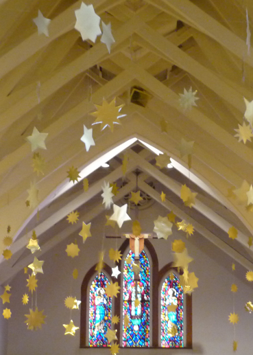 Above 2017 Advent Installation At Grace Episcopal Church In Ocala Florida Below Pentecost Fabric